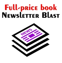 Newsletter blasts for full-price books