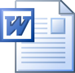 Book formatting - manuscripts are often provided in Word format