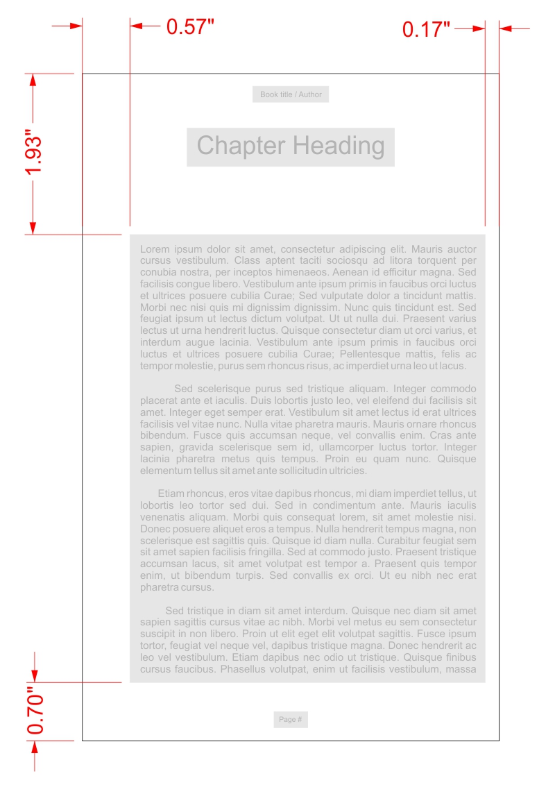 Top 8 book formatting considerations - Margins